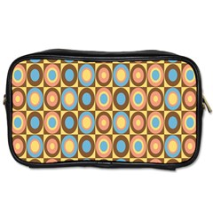 Round Color Toiletries Bags 2-Side