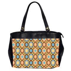 Round Color Office Handbags (2 Sides)