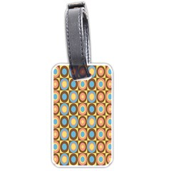 Round Color Luggage Tags (One Side)
