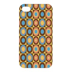 Round Color Apple iPhone 4/4S Premium Hardshell Case