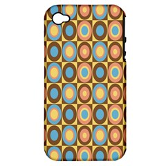 Round Color Apple iPhone 4/4S Hardshell Case (PC+Silicone)