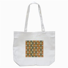 Round Color Tote Bag (White)