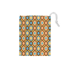 Round Color Drawstring Pouches (Small)