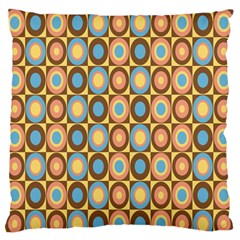 Round Color Large Flano Cushion Case (One Side)