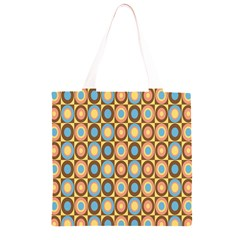 Round Color Grocery Light Tote Bag