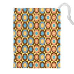 Round Color Drawstring Pouches (XXL)