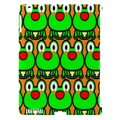 Sitfrog Orange Face Green Frog Copy Apple iPad 3/4 Hardshell Case (Compatible with Smart Cover)