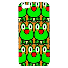 Sitfrog Orange Face Green Frog Copy Apple iPhone 5 Hardshell Case