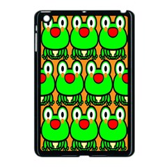 Sitfrog Orange Face Green Frog Copy Apple iPad Mini Case (Black)