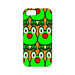 Sitfrog Orange Face Green Frog Copy Apple iPhone 5 Classic Hardshell Case (PC+Silicone)