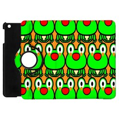 Sitfrog Orange Face Green Frog Copy Apple iPad Mini Flip 360 Case