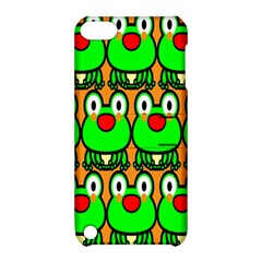 Sitfrog Orange Face Green Frog Copy Apple iPod Touch 5 Hardshell Case with Stand