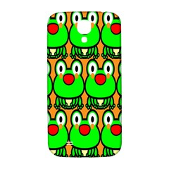 Sitfrog Orange Face Green Frog Copy Samsung Galaxy S4 I9500/I9505  Hardshell Back Case