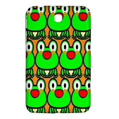 Sitfrog Orange Face Green Frog Copy Samsung Galaxy Tab 3 (7 ) P3200 Hardshell Case