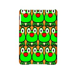 Sitfrog Orange Face Green Frog Copy iPad Mini 2 Hardshell Cases