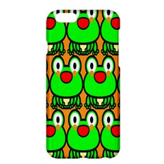 Sitfrog Orange Face Green Frog Copy Apple iPhone 6 Plus/6S Plus Hardshell Case