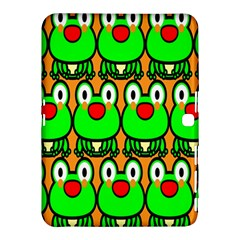 Sitfrog Orange Face Green Frog Copy Samsung Galaxy Tab 4 (10.1 ) Hardshell Case