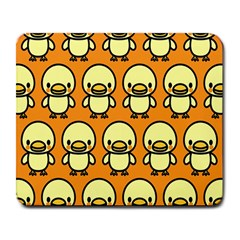 Small Duck Yellow Large Mousepads