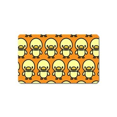 Small Duck Yellow Magnet (Name Card)