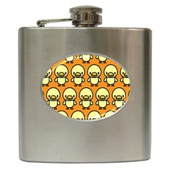 Small Duck Yellow Hip Flask (6 oz)
