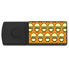 Small Duck Yellow USB Flash Drive Rectangular (4 GB)
