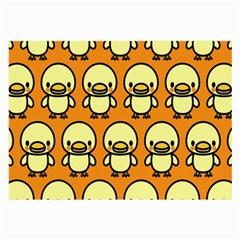 Small Duck Yellow Large Glasses Cloth