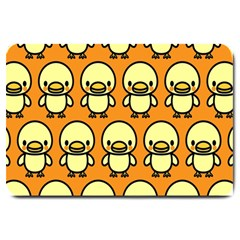 Small Duck Yellow Large Doormat