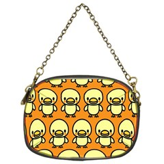 Small Duck Yellow Chain Purses (One Side)