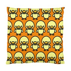 Small Duck Yellow Standard Cushion Case (Two Sides)