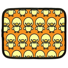 Small Duck Yellow Netbook Case (XXL)