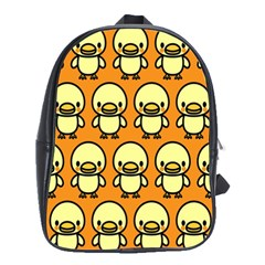 Small Duck Yellow School Bags(Large)