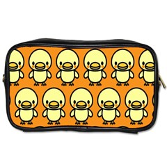 Small Duck Yellow Toiletries Bags 2-Side