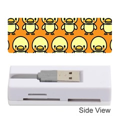 Small Duck Yellow Memory Card Reader (Stick)