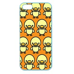 Small Duck Yellow Apple Seamless iPhone 5 Case (Color)