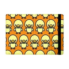Small Duck Yellow Apple iPad Mini Flip Case