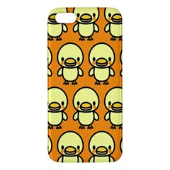 Small Duck Yellow Apple iPhone 5 Premium Hardshell Case
