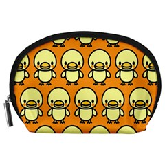 Small Duck Yellow Accessory Pouches (Large)