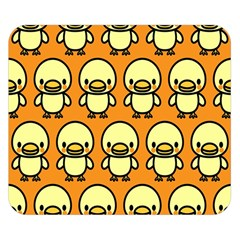 Small Duck Yellow Double Sided Flano Blanket (Small)