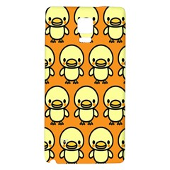 Small Duck Yellow Galaxy Note 4 Back Case