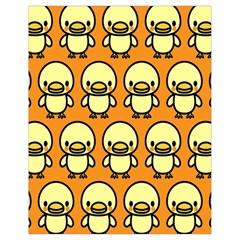 Small Duck Yellow Drawstring Bag (Small)