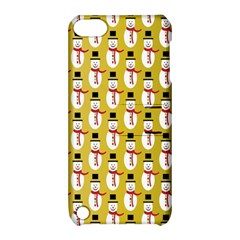 Snowman Green Apple iPod Touch 5 Hardshell Case with Stand