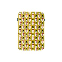 Snowman Green Apple iPad Mini Protective Soft Cases