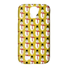 Snowman Green Samsung Galaxy S4 Classic Hardshell Case (PC+Silicone)