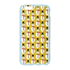 Snowman Green Apple Seamless iPhone 6/6S Case (Color)