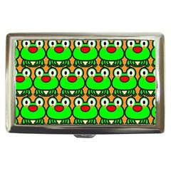 Sitfrog Orange Green Frog Cigarette Money Cases