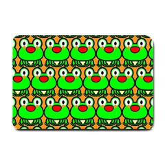 Sitfrog Orange Green Frog Small Doormat
