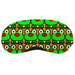 Sitfrog Orange Green Frog Sleeping Masks