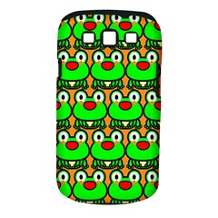 Sitfrog Orange Green Frog Samsung Galaxy S III Classic Hardshell Case (PC+Silicone)
