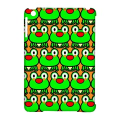 Sitfrog Orange Green Frog Apple iPad Mini Hardshell Case (Compatible with Smart Cover)
