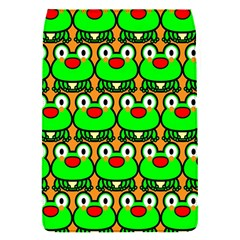 Sitfrog Orange Green Frog Flap Covers (S)